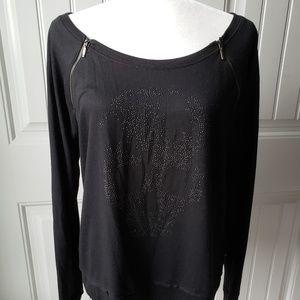 Rock & Rep skull black sweater